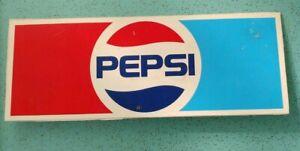 Vintage-Pepsi-Cola-Advertising-Sign-Plastic-Retro-Pop-Soft-Drinks