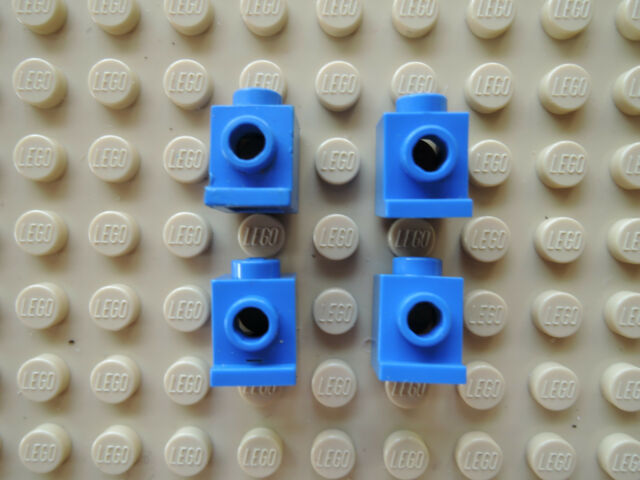 4070 transparent-klar neu LEGO Baustein 1 x 1 mit Lampenhalter 10 x