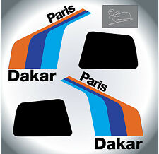 BMW  R80G/S-Paris Dakar,with Rayer sign-DECALS-aufkleber-adesivi-autocollant