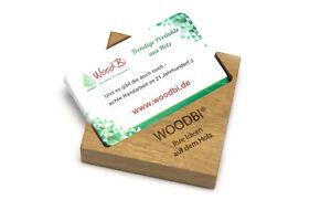 Details Zu Visitenkartenbox Aus Holz Mit Gravur Text Oder Grafik Visitenkartenhalter