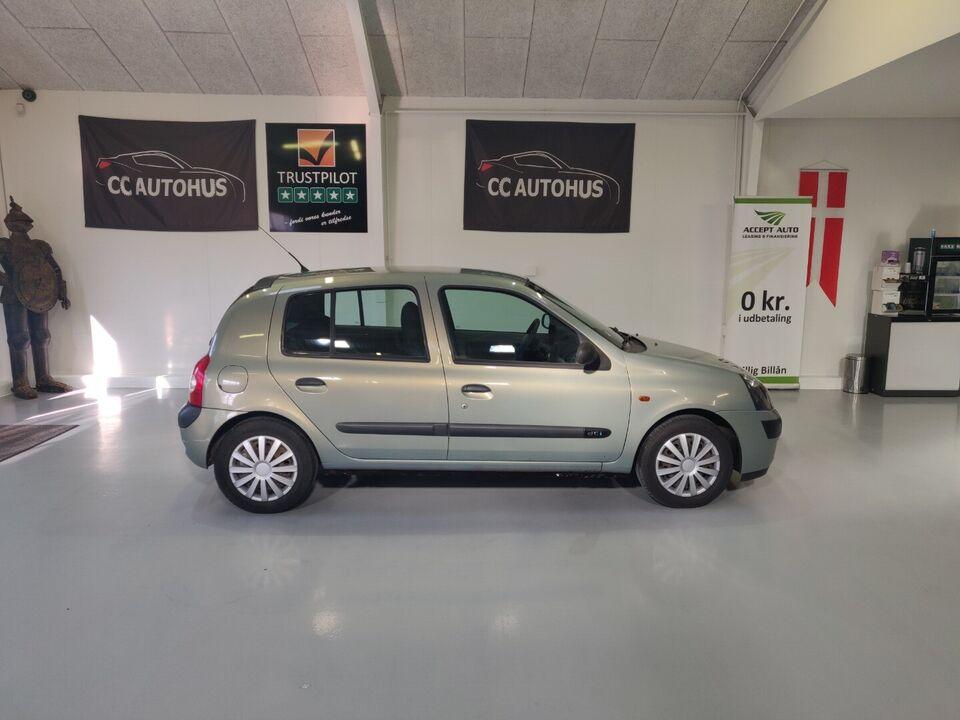 Renault Clio II 1,5 dCi Expression Diesel modelår 2003 km