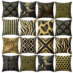 Am-Irregular-Triangle-Stripe-Pillow-Case-Cushion-Cover-Bed-Car-Office-Decor-Mys