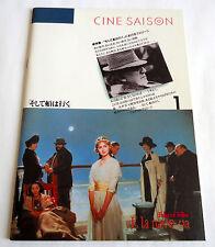 E LA NAVE VA / AND THE SHIP SAILS ON JAPAN MOVIE PROGRAM BOOK 1985 Fellini