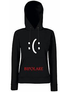 FELPA-DONNA-Bipolare-doppia-personalita-sbalzi-umore-smiley-felice-triste-2-facc