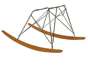 Mid Century Danish Modern Dowel Leg Chair Base fits Herman Miller Eames Shell