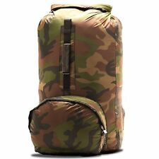 Aqua Quest Himal Dry Bag Backpack  - 100% Waterproof, Light, Foldable - 20L Camo