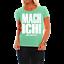 Frauen Damen T-Shirt MACH ICH aber nicht jetzt lustig witzig Status cool Sprüche