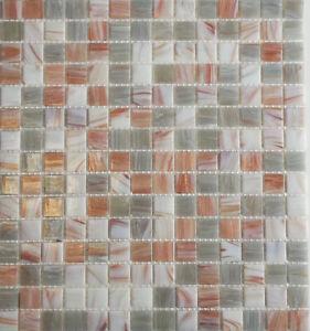 Glasmosaikfliese Boden Wand Küche Bad Dusche WC Fliesenspiegel beige I WB54-0104