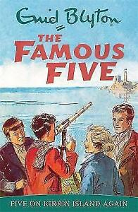 Five-on-Kirrin-Island-Again-Famous-Five-by-Enid-Blyton-Acceptable-Used-Book