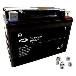 YB4L-B GEL-Bateria Para Motorhispania Rx 50 Carreras año 2000-2002 de JMT