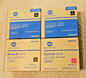 Genuine-Konica-Minolta-TNP51-Magenta-black-Toner-Cartridge-Bizhub-C3110-A0X5135