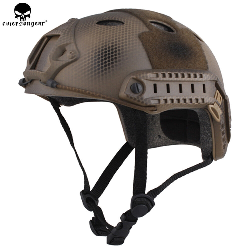 EMERSON Tactical Fast Helmet PJ Type Airsoft  Millitary Helmet casque Navy Seals  large discount