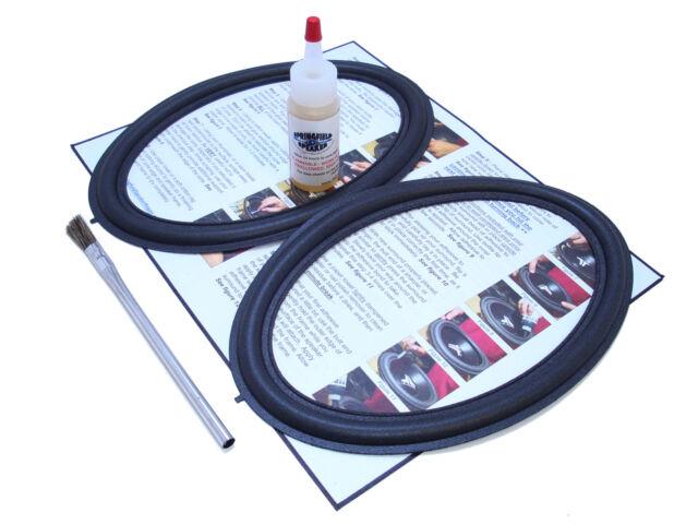 2 Toyota / JBL 6x9 Speaker Foam Repair Kit - Toyota Prius 6 x 9 - 2JBL69