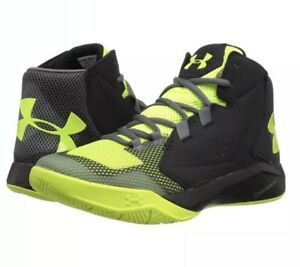 4f69965f Details about Under Armour UA BGS Torch Fade BB Youth Black/Volt Green  1303289-003
