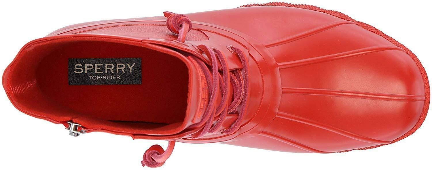 Sperry Women's Saltwater Rubber Flooded Rain Red Boot Boot Boot Size 9.5 US 40.5 EU NEW f43a2f