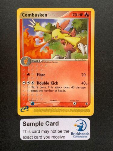 Combusken 27//109 UncommonEX Ruby /& SapphirePokemon Card