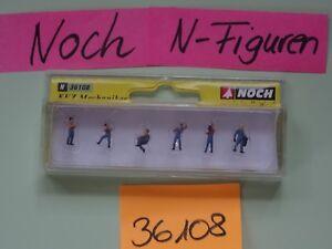Noch-N-Artikel-36108-Figurensatz-KfZ-Mechaniker-Neu-OVP-ungeoeffnet