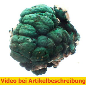 5757-Pyromorphite-Malachit-Cerussit-ca-6-7-5-cm-Rum-Jungle-Australien-MOVIE