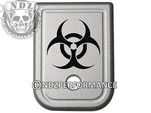 For-Glock-Magazine-9mm-40-Plate-SIL-17-19-22-23-26-27-34-35-Biohazard