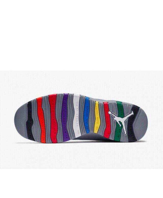Air Jordan 10 Retro Retro Retro Cool grigio 310805-022 Dimensione 7-13 df4563