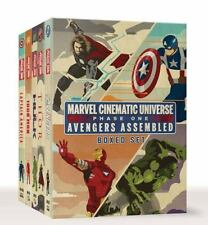 NEW - Marvel Cinematic Universe: Phase One Book Boxed Set: Avengers Assembled