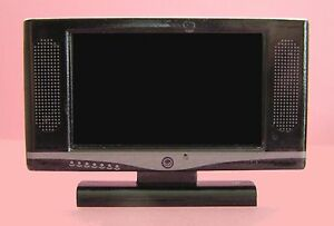 1-12TH-SCALE-DOLLS-HOUSE-WIDESCREEN-TV-BLACK