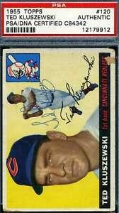 Ted-Kluszewski-1955-Topps-PSA-DNA-Coa-Autograph-Authentic-Hand-Signed