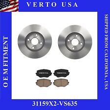 Front Brake Kit For  Mazda Miata 1994-2005 , Verto USA 31159X2-VS635