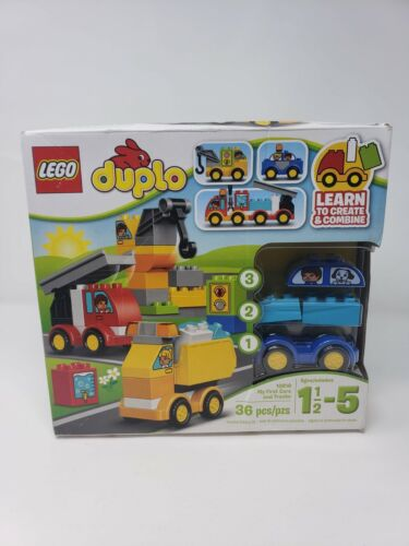 LEGO DUPLO 10816 My First My First Cars and Trucks New /& Sealed in Damaged Box