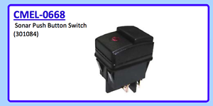 WOODSON STODDART 301084 CMEL-0668 SONAR PUSH BUTTON SWITCH