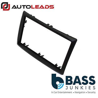 Black Autoleads DFP-08-03 Car Audio Double DIN Facia Adaptor