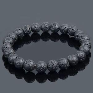 Natural Lava Stone Bracelet Essential Oils Diffuser Ebay