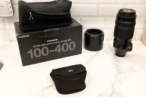 Fujifilm XF 100-400mm f/4.5-5.6 R LM OIS WR Lens + Bonus filter pack