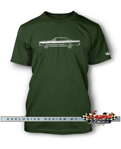 Multiple Colors /& Sizes American Car 1968 Plymouth GTX Coupe T-Shirt for Men