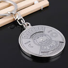Perpetual Calendar Key Ring Souvenir Gift Unique KeyChain 50 Years 2010-2060