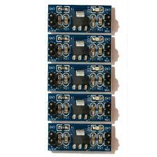 5 Pcs AMS1117-5V DC-DC Step-Down Voltage Regulator Adapter Convertor 5V Out