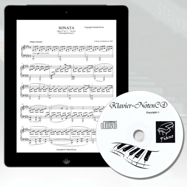 KLAVIERNOTEN MEGA SAMMLUNG Wert ca. 5000 EUR -Klavier, Keyboard und Digitalpiano
