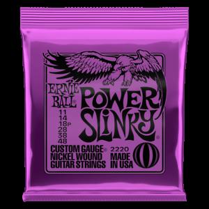 Ernie Ball Power Slinky E-Gitarre Saiten 11-48 Anzeige