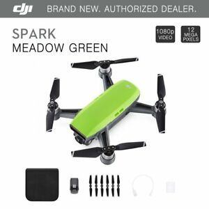 DJI Spark Meadow Green Quadcopter Drone - 12MP 1080p Video
