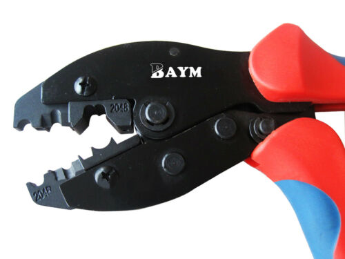BAYM Crimping Pliers for Spark Plug Stripping Tool LY-2048 Spark Plug Wire Crimp