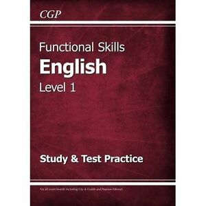 Details about Functional Skills English Level 1 - Study & Test Practice,  Paperback by CGP B