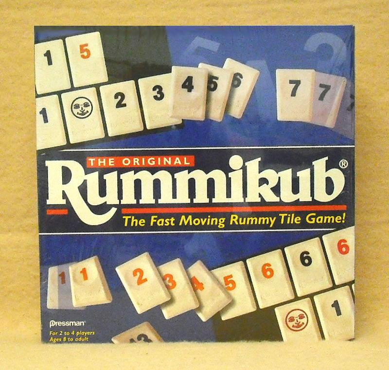 PRESSMAN   CASE OF 6 ORIGINAL  RUMMIKUB GAMES - NEW                 ZPRE-0400