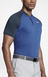 1991ba29 NWT Nike Raglan Slim Fit Golf Polo Sz XL (833079 433) MM TW Rory Day ...
