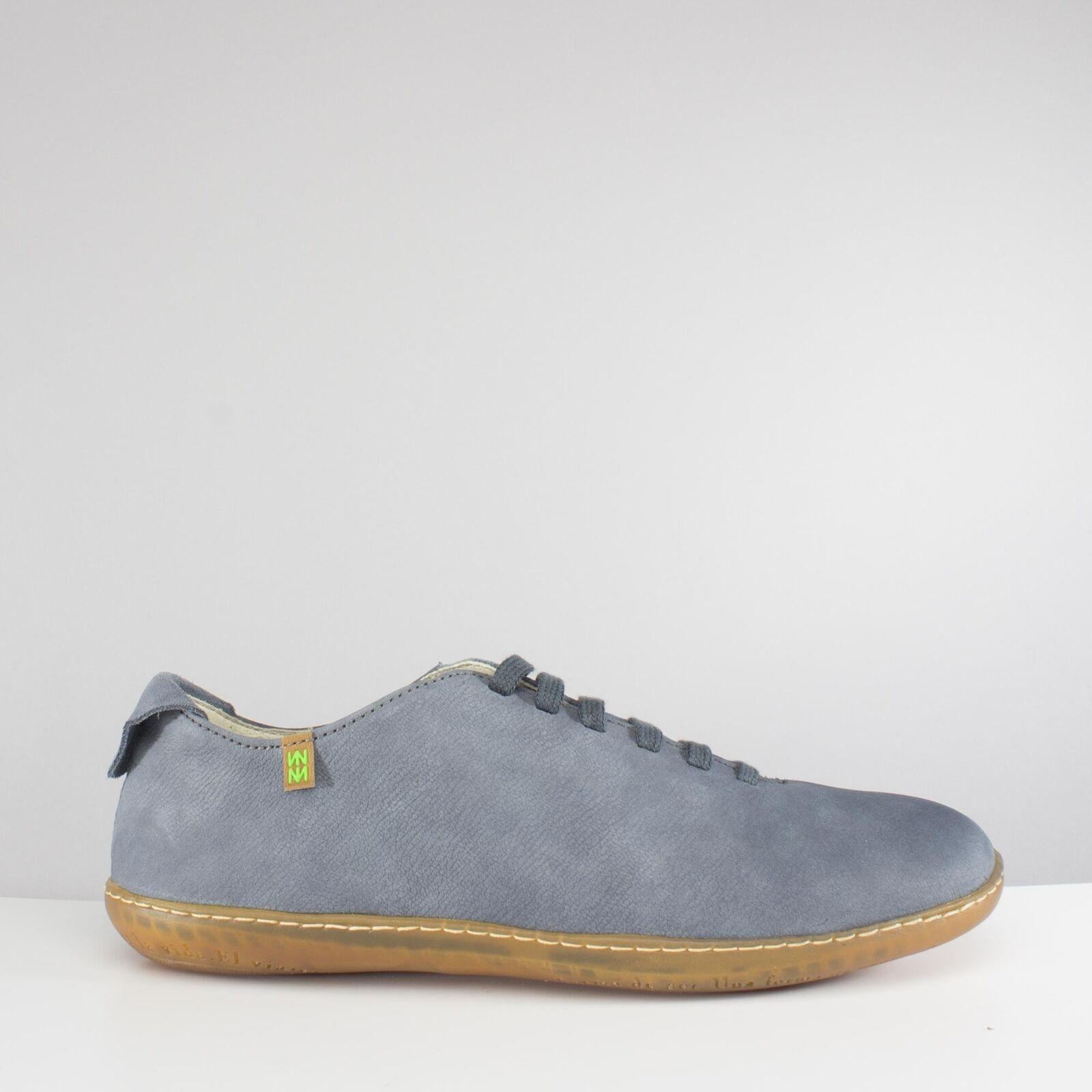 El Naturalista N296 EL VIAJERO Ladies femmes  Leather Casual  Chaussures  Vaquero bleu