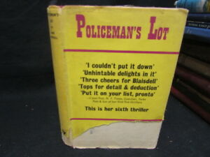 Accept Policeman039s lot Blaisdell Anne 1969 Gollancz - Lampeter, United Kingdom - Accept Policeman039s lot Blaisdell Anne 1969 Gollancz - Lampeter, United Kingdom