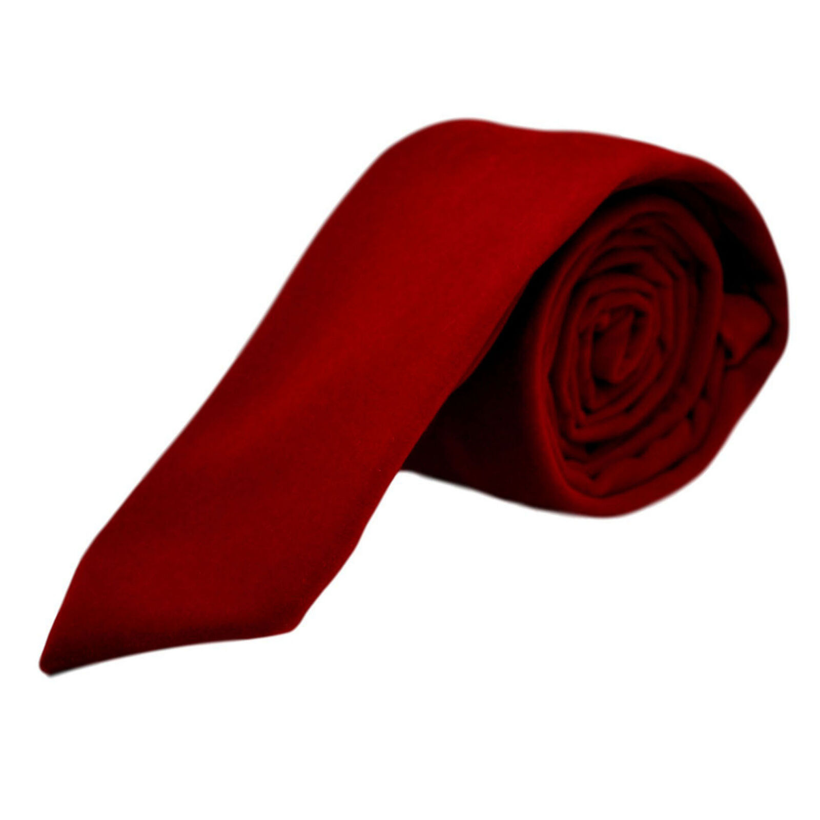 Luxus Roter Samt Krawatte