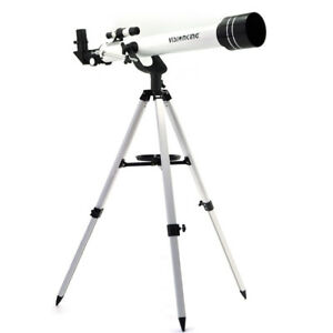 """Visionking 700-60 1.25"""" Refractor Monocular Outer Space Astronomical Telescope"""