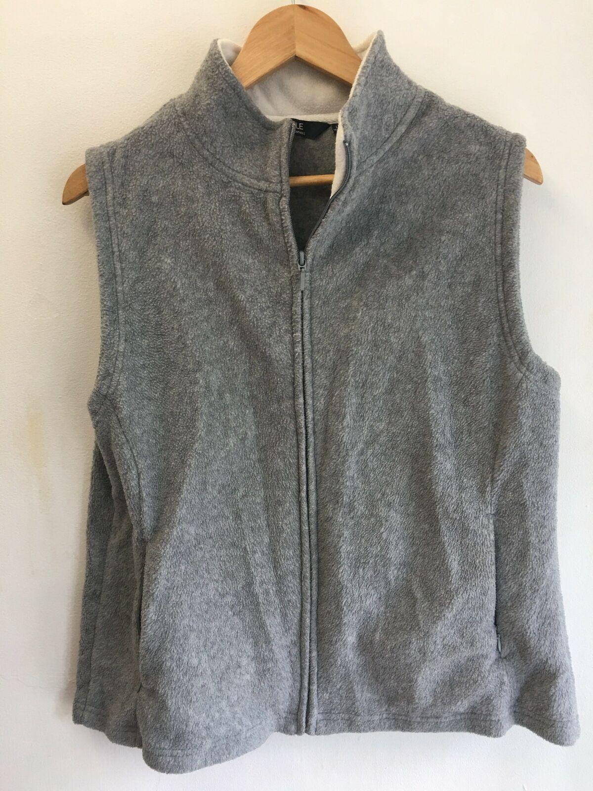Womens Sleeveless Fleece Gillet by ISLE ESSENTIALS - Size 20
