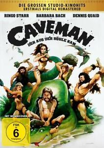 Caveman-il dalla grotta arrivò [DVD/Nuovo/Scatola Originale] Ringo Starr, Dennis Quaid, Barbara