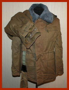 USSR Vintage Russian Military Winter Suit Jacket Pants Mabuta ...